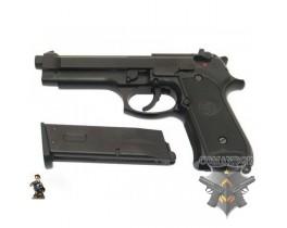 Страйкбольный пистолет Beretta M92S, металл