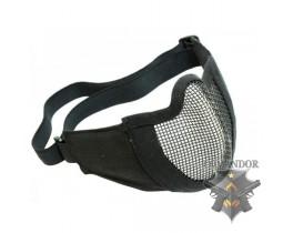 Защита нижней части лица COMFORT, металл, проволочная, черная