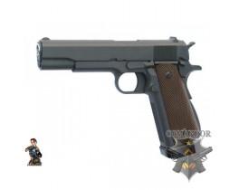 Страйкбольный пистолет Colt M1911 A1 CO2, металл