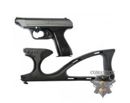 Страйкбольный пистолет VP70 с прикладом, металл