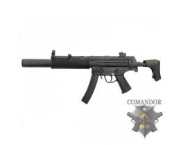 Страйкбольный автомат MP5 SD6, металл