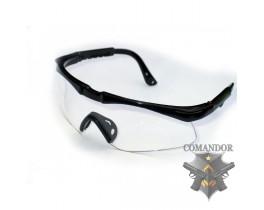 Очки защитные противоосколочные SPORT LINE, регулируемые
