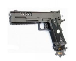 Страйкбольный пистолет Hi-CAPA 5.2 с коронообразным стеклобитом, металл