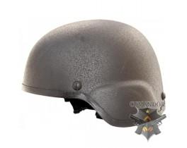 Шлем защитный MICH 2000, подвесная система КОМФОРТ, ABS, черный