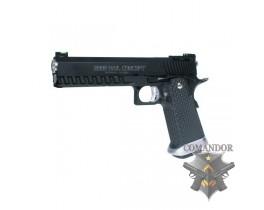 Страйкбольный пистолет Colt 2009 Rail Concept, металл, СО2