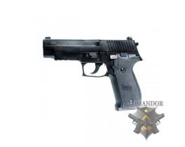 Страйкбольный пистолет P226 GreenGas Blowback full metall