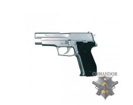 Страйкбольный пистолет P226 GreenGas Blowback серебро
