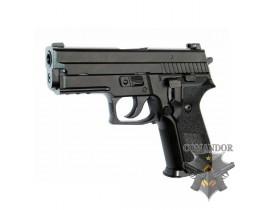 Страйкбольный пистолет P229 Blowback GreenGas plastic