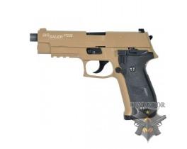 Страйкбольный пистолет P226, металл, песочный