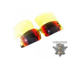 Очки Guarder (G-C4) v.07 - 4 комплекта сменных стекол/дужки/резинка
