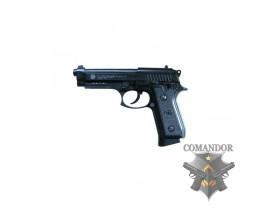 Страйкбольный пистолет Taurus PT92 CO2, металл, чёрный