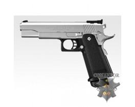 Страйкбольный пистолет HI-Capa 5.1 Custom Dual stainless Silver