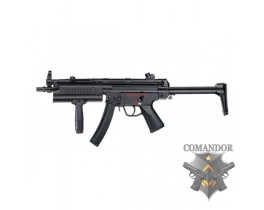 Страйкбольный автомат ICS-65 MP5A5 Tactical handguard Plastic version