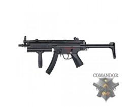 Страйкбольный автомат ICS-65 MP5A5 Tactical handguard Plastic version