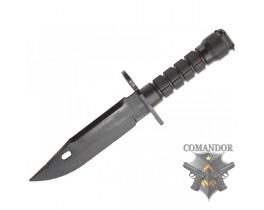 Модель штык-ножа для М-серии резиновый, черный
