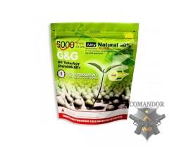 Страйкбольные шары 0.20g Bio (Биоразлагающиеся, бежевые)