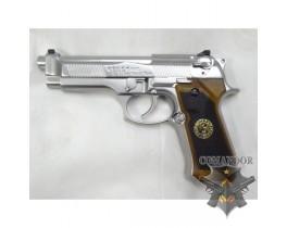 Страйкбольный пистолет Beretta M9 (silver)
