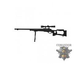 Страйкбольная снайперская винтовка  MB-10D Spring Sniper Rifle (оптика и сошки в комплекте)
