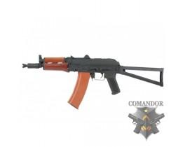 Страйкбольный автомат AKS-74UN (Real wood) (CM035A)