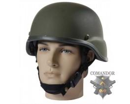 каска защитная US Army Mich (пластик) цвет: олива