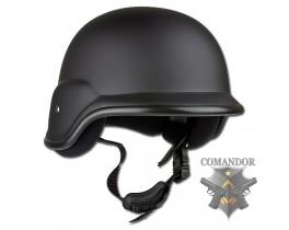 каска защитная Бундесвера парадная (пластик) цвет: черный размер: М