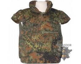 бронежилет армии Бундесвера (оригинал, Б/У) цвет: flecktarn (флектарн) размер: XL