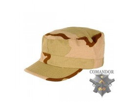 кепка военная BDU Rip-Stop цвет: desert 3-color размер: XL