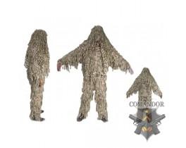 маскировочный костюм профессиональный 3D Ghillie Jackal цвет: desert размер: XL