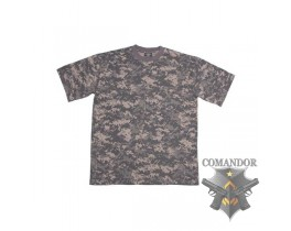 футболка камуфляжная цвет: AT-digital размер: S