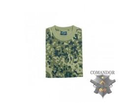 футболка камуфляжная цвет: Danisch-tarn размер: L