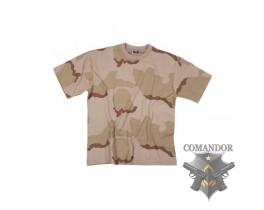 футболка камуфляжная цвет: Desert 3-color размер: L