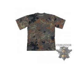 футболка камуфляжная цвет: Flecktarn (флектарн) размер: M