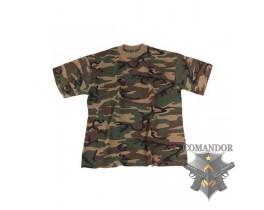 футболка камуфляжная цвет: Woodland (вудланд) размер: M