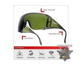 очки защитные BOLE цвет: черный