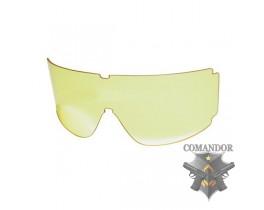 стекло защитное для маски Classic Army цвет: желтый