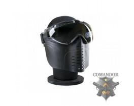 маска защитная с вентиляцией стекла цвет: черный