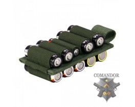 KW Battery Holder 10 (OD Green)
