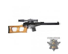 """Страйкбольная снайперская винтовка ВСС  """"Винторез""""  с тюнингом 150 м/с."""