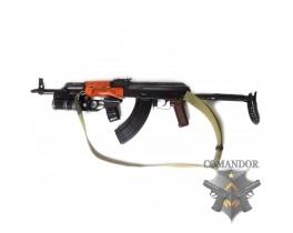 Страйкбольный автомат AKМС  GAS Blow Back