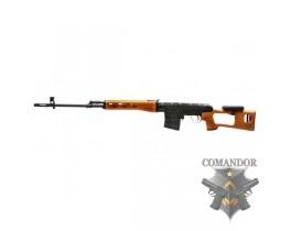 Страйкбольная снайперская винтовка СВД (SVD), спринговая, металл, дерево