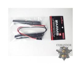 Аккумулятор nimh 9,6v (1600mah) CQB тип