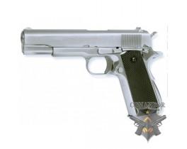 Страйкбольный пистолет COLT 1911 MKIV Chrome
