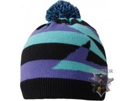 Водонепроницаемая шапка DexShell,  голубая с бубоном (DH352-BS)