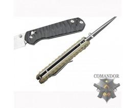 Складной нож Ganzo G717, желтый