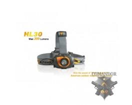 Налобный фонарь Fenix HL30 Cree XP-G R5 черно-желтый