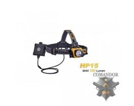 Налобный фонарь Fenix HP15 XM-L2, желтый