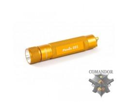 Фонарь Fenix E01 Nichia white GS LED желтый