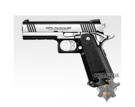 Страйкбольный пистолет HI-CAPA DUAL STAINLESS