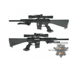 """Страйкбольная винтовка 16"""" Free Float Heavy Barrel Sniper Rifle"""