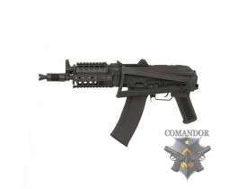 Страйкбольный автомат CYMA AKS-74UN RAS Assault Metal Rifle CM.045C, Black